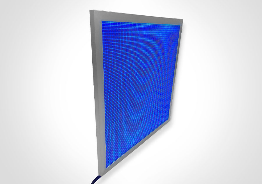 Elume RGB LED Light Panel - Framed | Model: ELP-SF32-RGB/1 - Blue