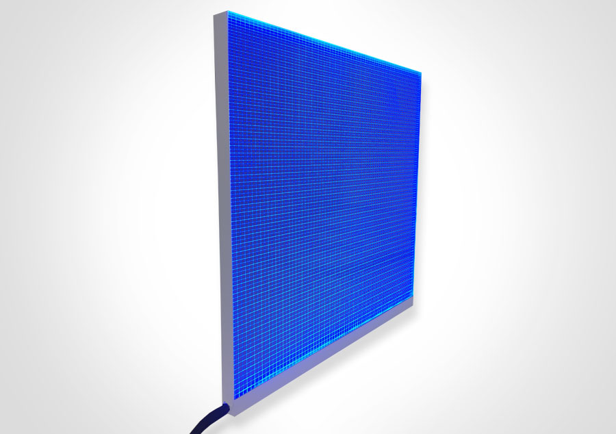 Elume RGB LED Light Panel - Non-Framed | Model: ELP-RGB/1 - Blue