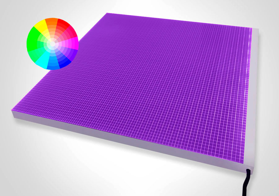 Elume RGB LED Light Panel - Non-Framed | Model: ELP-RGB - Product View
